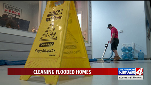Restoration company teaching Oklahomans how to clean a flooded home