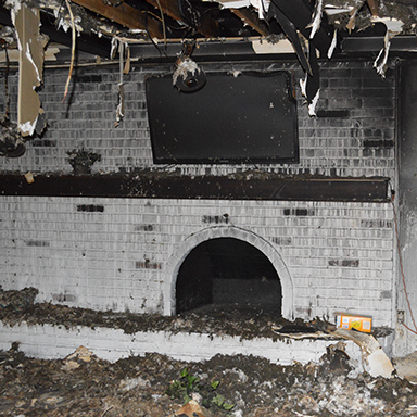 Fireplace: Before